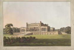 N.E. View of Eaton Hall, near Chester, the Seat of Earl Grosvenor